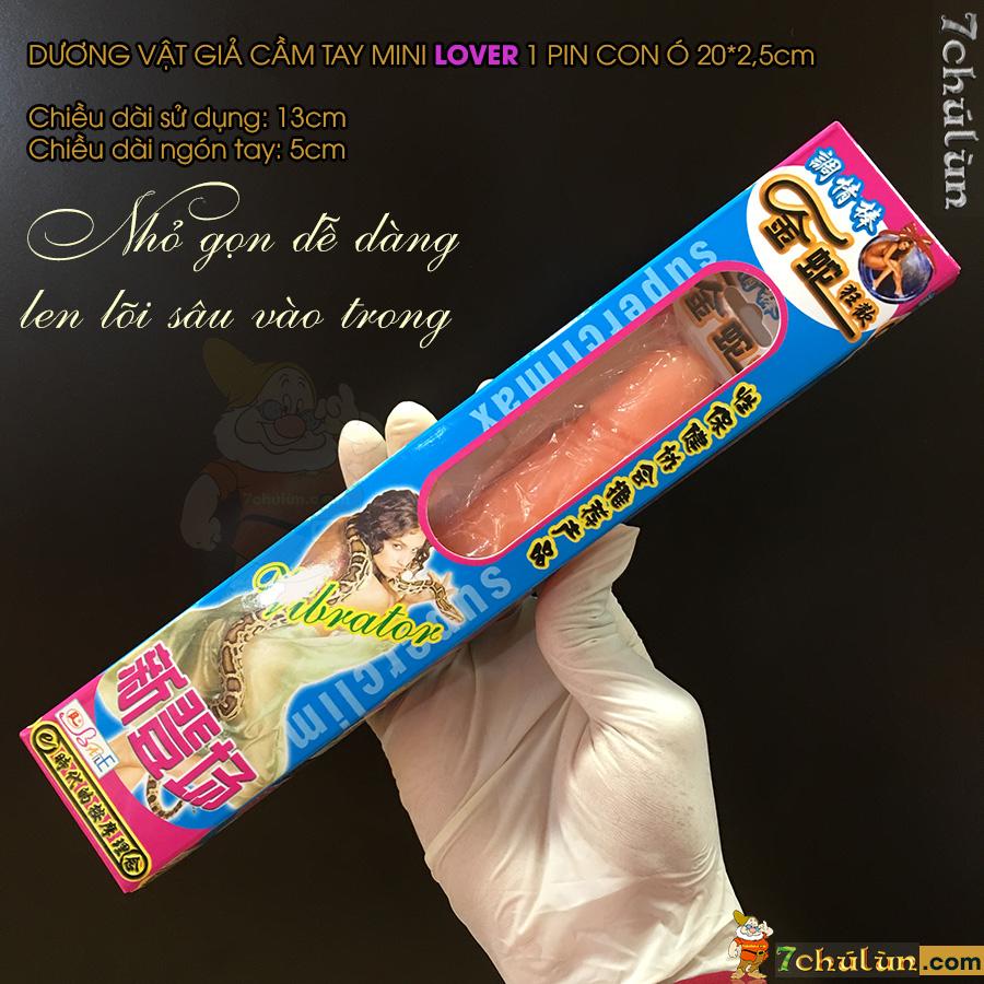 Duong Vat Gia Mini Gia Re Lover de dang thu dam cho nu