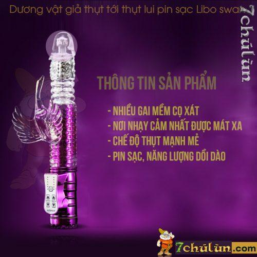 Duong Vat Gia Thut Toi Thut Lui Libo Swan Thong tin san pham