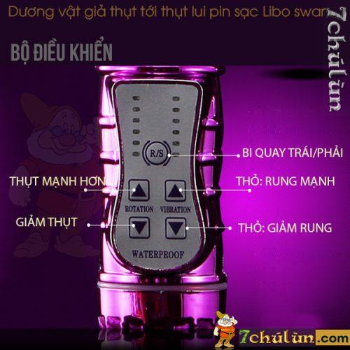 Duong Vat Gia Thut Toi Thut Lui Libo Swan Remote dieu khien