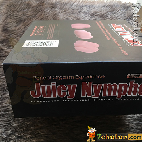 Âm đạo giả Juicy Nympho đóng hộp cứng ngắt