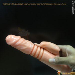 Duong Vat Gia Rung Ngoay Xoay Thut Golden Gun De Dang Su Dung