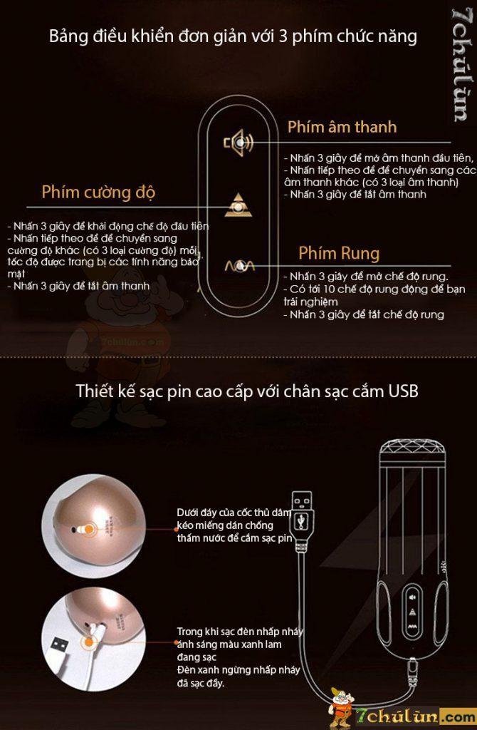 May Thu Dam Tu Dong Thut Toi Thut Lui Jeuplay thông tin sản phẩm