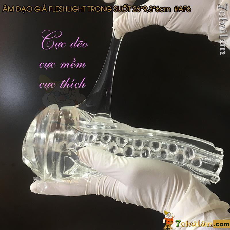 Am Dao Gia Fleshlight Trong Suot Nguy Trang Den Pin vo cung deo dai