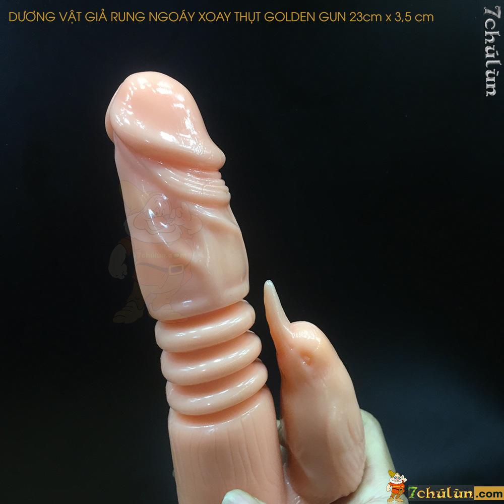 Duong Vat Gia Rung Ngoay Xoay Thut Golden Gun Matxa kep thu dam cuc suong