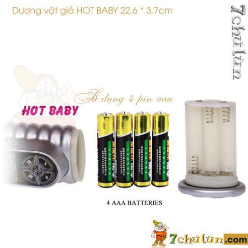 Duong vat gia da nang rung ngoay Hot Baby pin 3 A