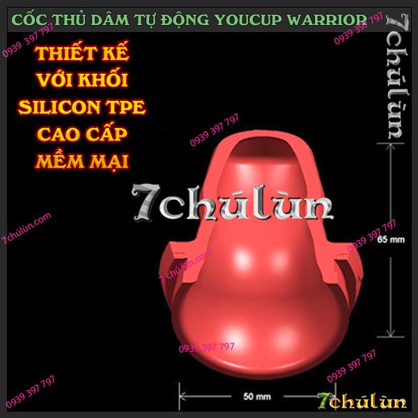 coc thu dam tu dong Youcup Warrior giúp bạn giải tỏa sinh lý hiệu quả