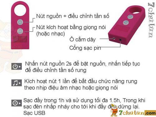 Duong Vat Gia Dan Tuong Lovetoy Leo Duong Kinh 3,8cm Thong tin San Pham