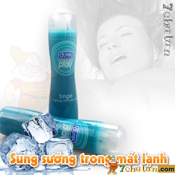 Gel Durex Lanh Tang Khoai Cam cho cam giac cool, mat lanh