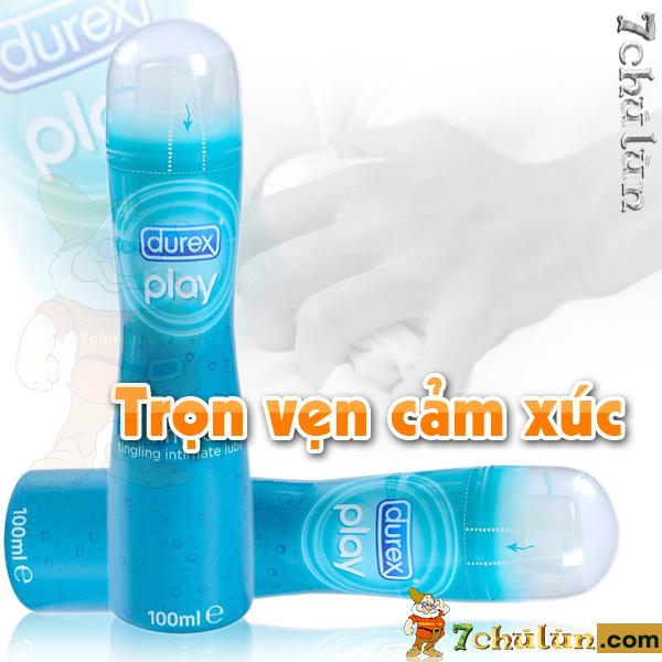 Gel Durex Lanh Tang Khoai Cam Tron ven cam xuc