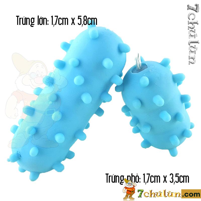 Trung rung tinh yeu 2 dau co gai Loveaider E6-chat-lieu-silicone-mem-mai