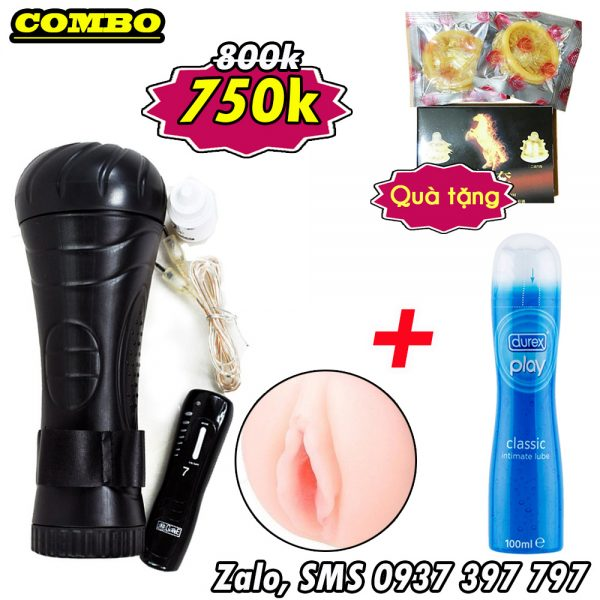 1-combo-do-choi-tinh-duc-nam-den-pin-pussy-rung-7-che-do-gel-durex