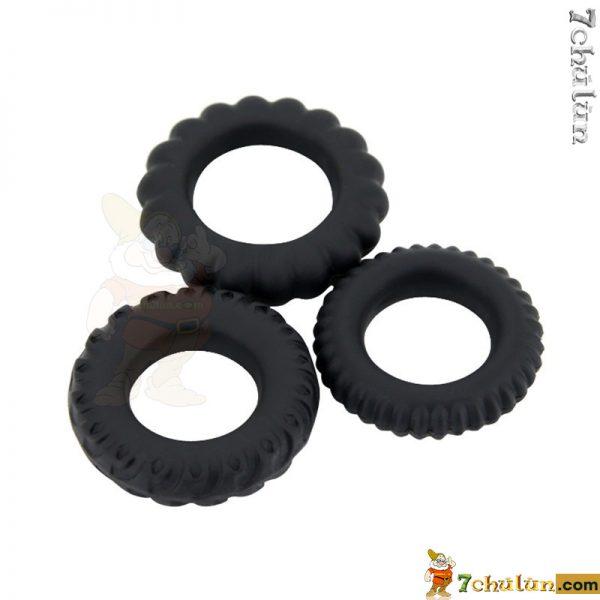 2-bo-3-vong-deo-duong-vat-TITAN-silicone-gai-bi-chong-xuat-tinh-som