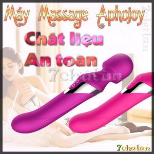 May Massage Cao Cap Aphojoy su dung duoc ca 2 dau chat lieu an toan