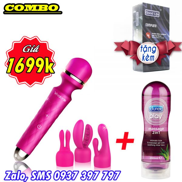 bo-do-choi-tinh-duc-cao-cap-may-massage-sinmis-gel-boi-tron-durex-2in1