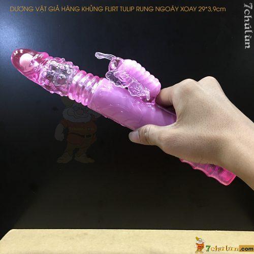 Duong Vat Gia Hang Khung Flirt Tulip Rung Ngoay Xoay thu dam danh cho nu