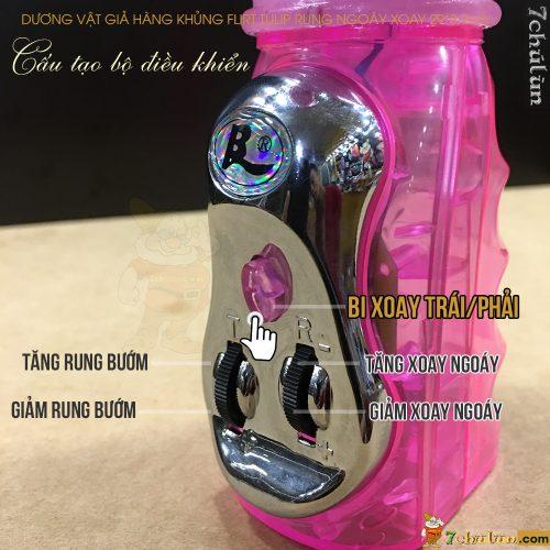 Duong Vat Gia Hang Khung Flirt Tulip Rung Ngoay Xoay bo dieu khien rung
