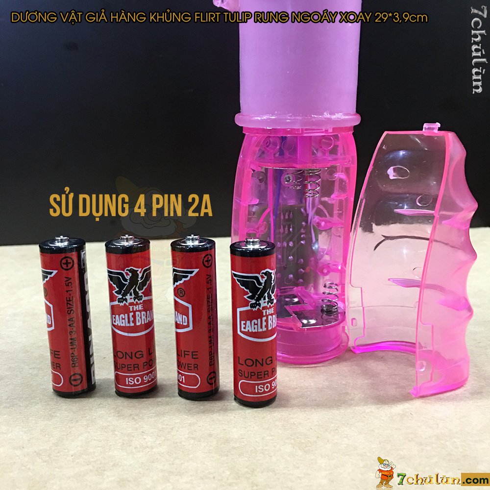 Duong Vat Gia Hang Khung Flirt Tulip Rung Ngoay Xoay Su Dung 4pin 2a