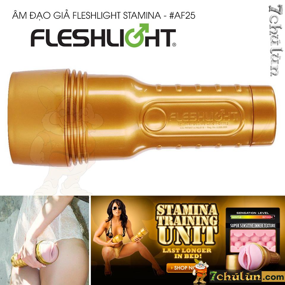 Am Dao Gia Cao Cap Fleshlight Stamina Gold tuyet tac sextoy