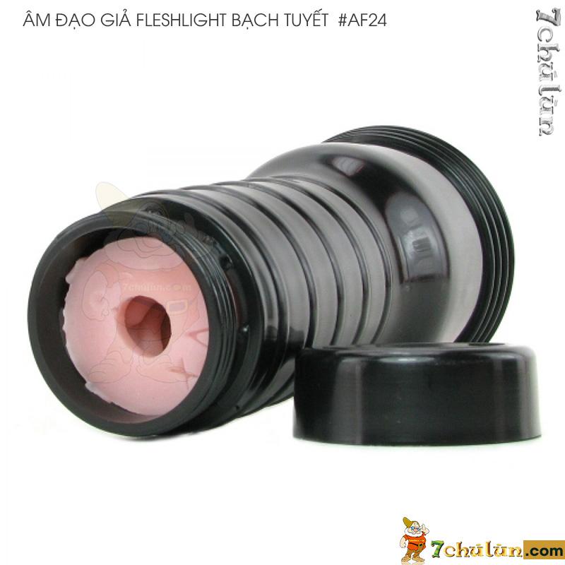 Am Dao Gia Fleshlight Cao Cap Nguy Trang Den Pin Mau Den