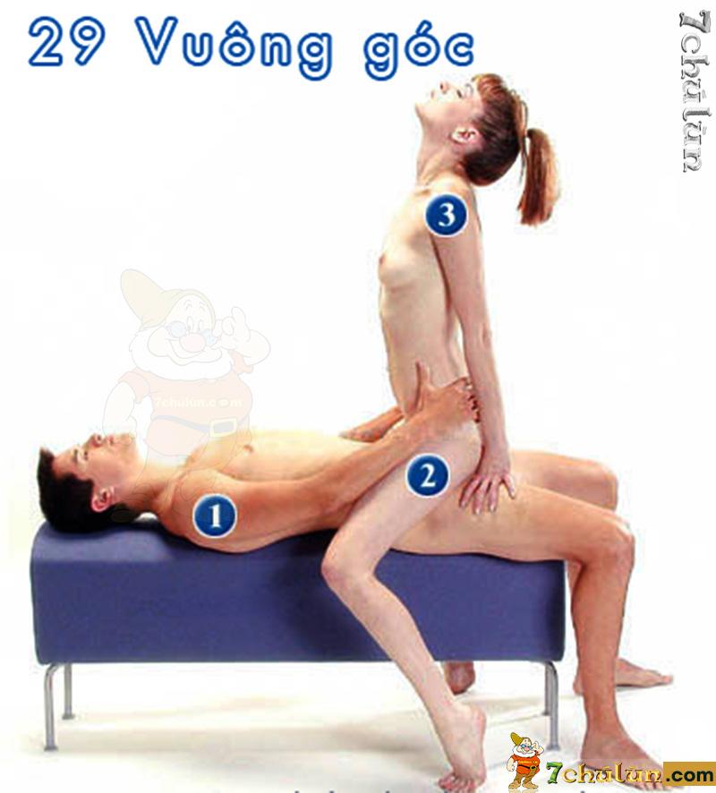 52 Tu The Lam Tinh Vo Chong - Tu The 29 vuong goc