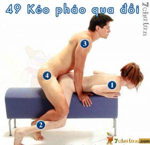 52 Tu The Lam Tinh Vo Chong - Tu The 49 Kéo Pháo Qua Đồi