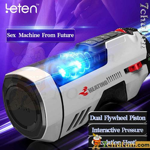 Âm đạo giả Leten Future Pro máy thủ dâm tự động 2 động cơ