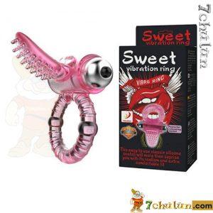 Vòng rung tình yêu, nhẫn rung dương vật Sweet Ring 10 chế độ rung